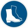 """Mini-Pictogramme d'informations individuels en feuilles """"Chaussures de sécurité obligatoires"""""""