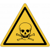 "Mini-Pictogramme d'informations individuels en feuilles ""Danger, matières toxiques"""