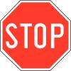 "Panneaux de circulation anti-graffiti Premium ""Stop"""