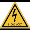 Panneaux de danger électrique - 11000 V