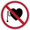 """Panneaux d'interdiction """"Interdit aux personnes porteuses d'un stimulateur cardiaque"""""""