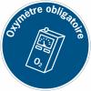 """Panneaux d'obligation """"Oxymètre obligatoire"""""""