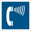 """Panneau accessibilité """"Téléphone amplifié"""""""