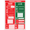 Affichage obligatoire à compléter - Consignes d'urgence