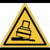 """Mini-pictogrammes de danger """"Risque de basculement"""" en rouleau"""