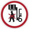 """Mini-pictogrammes d'interdiction """"Ne pas stationner sous la charge"""" en rouleau"""