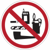 """Mini-pictogrammes """"Interdiction formelle de fumer"""" en rouleau"""