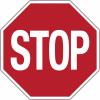 Mini-pictogrammes d'obligation - Stop en rouleau