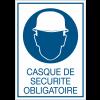 Panneaux de signalisation de sécurité standards - Casque de sécurité obligatoire
