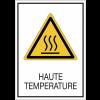 Panneaux de signalisation de sécurité standards - Haute température
