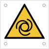 """Plaques de signalisation pour machines """"Danger, démarrage automatique"""""""