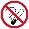 Etiquettes de signalisation pour machines - Défense de fumer