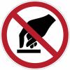 Etiquettes de signalisation pour machines - Ne pas toucher