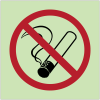 "Panneaux d'interdiction photoluminescent ""Interdiction de fumer"""