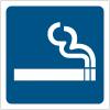 """Pictogrammes de signalisation """"Autorisation de fumer"""""""