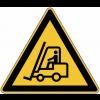 """Panneau de danger en aluminium """"Chariots élévateurs et autres véhicules industriels"""""""