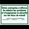 Affiche - Nombre de jours sans accident
