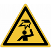 "Panneaux ISO 7010 ""Danger, obstacle en hauteur"" - W020"