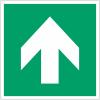 Pictogramme en rouleau ISO 7010 Flèche Evacuation Droite - A090