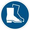 Panneaux et autocollants NF EN ISO 7010 Chaussures de sécurité obligatoires - M008