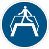 Pictogramme ISO 7010 en rouleau Utiliser la passerelle - M023