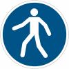 Pictogramme ISO 7010 en rouleau Utilisez le passage - M024