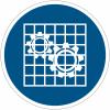 Panneaux et autocollants NF EN ISO 7010 Vérifier la protection - M027