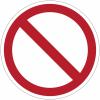 Pictogramme ISO 7010 en rouleau Interdiction Générale - P001
