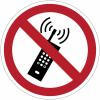 Pictogramme ISO 7010 en rouleau Interdiction d'activer des téléphones mobiles - P013