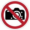 Pictogramme ISO 7010 en rouleau Interdiction de photographier - P029