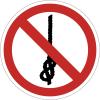 Pictogramme ISO 7010 en rouleau Ne pas faire de nœuds avec la corde - P030