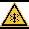 Panneaux et autocollants NF EN ISO 7010 Basses températures, conditions de gel - W010