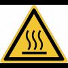 Panneaux et autocollants NF EN ISO 7010 Surface chaude - W017