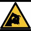 Panneaux et autocollants NF EN ISO 7010 Taureau - W034