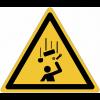 Pictogramme ISO 7010 en rouleau Danger Chute d'objets - W035