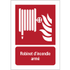 Panneaux NF EN ISO 7010 A3/A4/A5 Robinet d'incendie armé - F002
