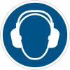 Pictogramme ISO 7010 en rouleau Serre-tête antibruit obligatoire - M003