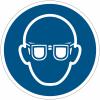 Pictogramme ISO 7010 en rouleau Lunettes de protection obligatoires - M004