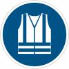 Pictogramme ISO 7010 en rouleau Gilet de sécurité haute visibilité obligatoire - M015