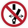 Pictogramme ISO 7010 en rouleau Ne pas modifier la position de l'interrupteur - P031
