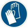 Pictogrammes NF EN ISO en aluminium Gants de protection obligatoires - M009