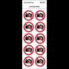 """Pictogrammes en planche NF EN ISO 7010 """"Interdiction de photographier"""" P029"""