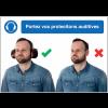 Autocollants et panneaux bonnes pratiques - Portez vos protections auditives