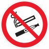 Panneaux et autocollants « interdiction de vapoter et de fumer »