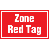 Marquage au sol - Zone Red Tag