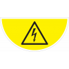 """Marquage au sol avec pictogramme""""Danger électrique""""W012"""