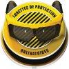 Marquage au sol 3D - LUNETTES DE PROTECTION OBLIGATOIRES
