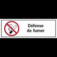 Etiquettes de sécurité - Défense de fumer
