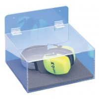 Boîte de rangement pour bouchons d'oreilles et casques auditifs