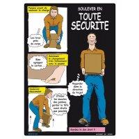 Affiche - Soulever en toute sécurité